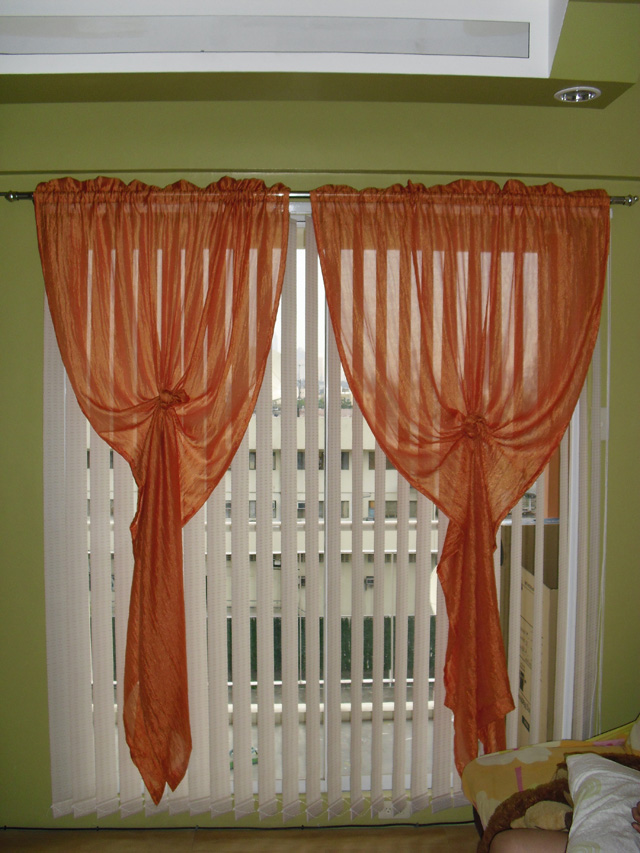 Fabric Vertical Blinds Installation at Marikina City Philippines
