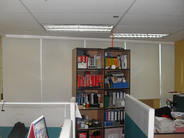 Installed Roller Blinds at Ayala Avenue Makati City