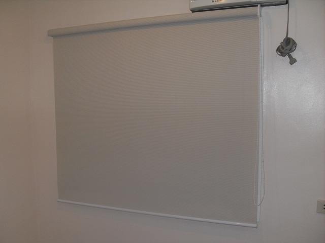 Installed Roller Blinds at Parañaque City, Manila, Philippines