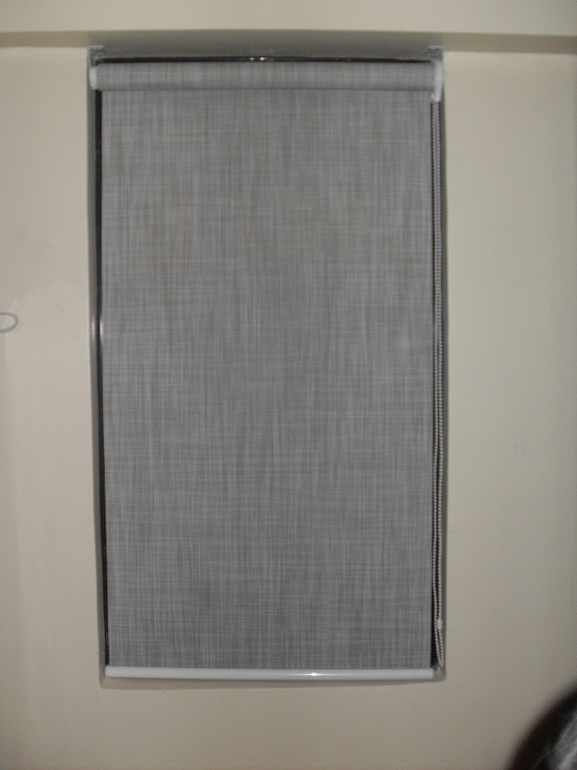 Blackout Roller Blinds, Code: C7009 Grey