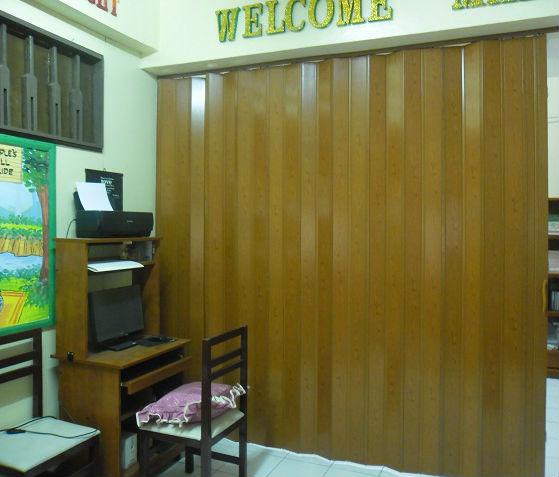 PVC Accordion Door Installation at Makati City, Philippines