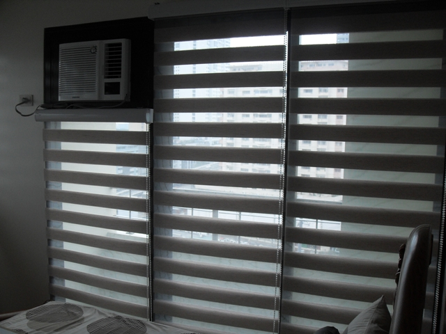 Combi Blinds as Decorative Home Partition, Metro Manila, Philippines