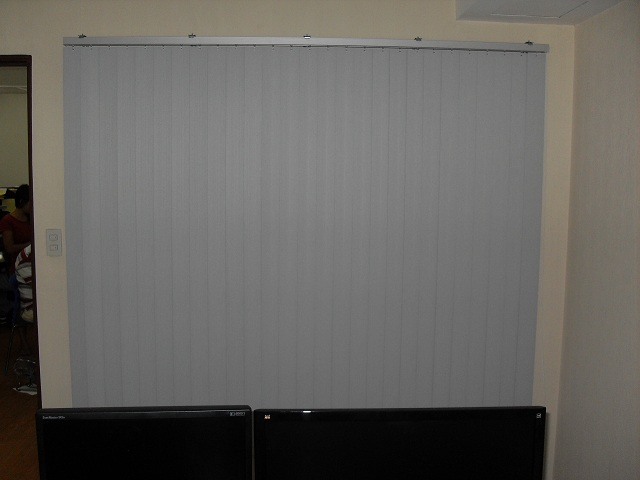 PVC Vertical Blinds Installed in a Computer Animation Company
