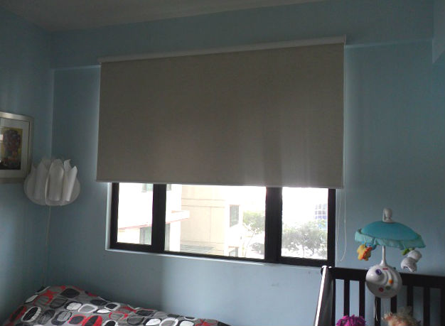 Blackout Roller Blinds for a Good Night Sleep of Your Kids