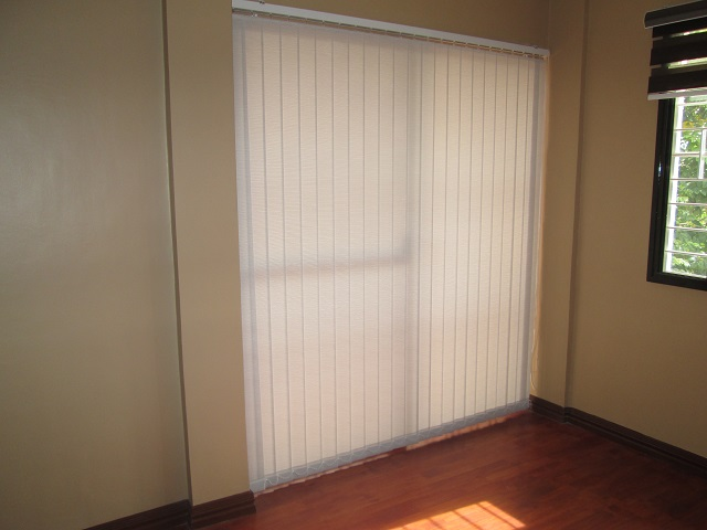 Fabric Vertical Blinds Installed at Las Pinas City, Philippines