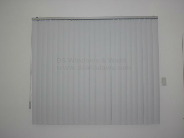 PVC Vertical Blinds: 03T Plain S5