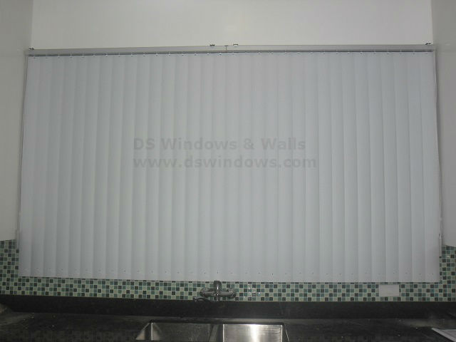 Installed PVC Vertical Blinds in Upper Bicutan, Taguig City