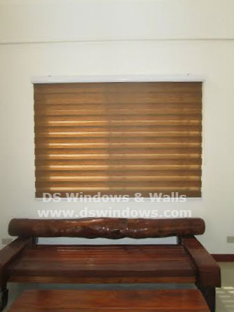 Installed Combi Blinds in West Triangle, Quezon City, Philippines
