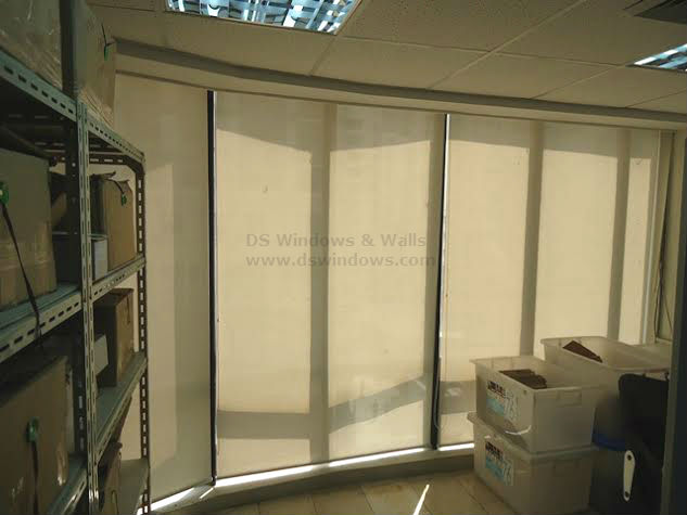 Roller Blinds Installed in Global City, Taguig, Philippines