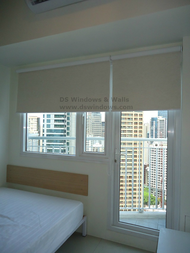 Roll Up Blinds Installed in Ermita Metro Manila