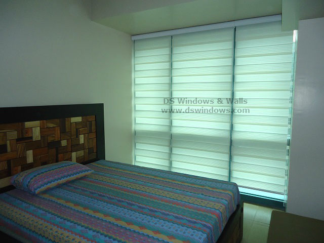 Pleated Dual Shades Installed at San Lorenzo Village, Makati Metro Manila