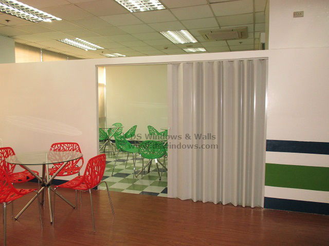 Accordion Door installed at United Hills, Parañaque City
