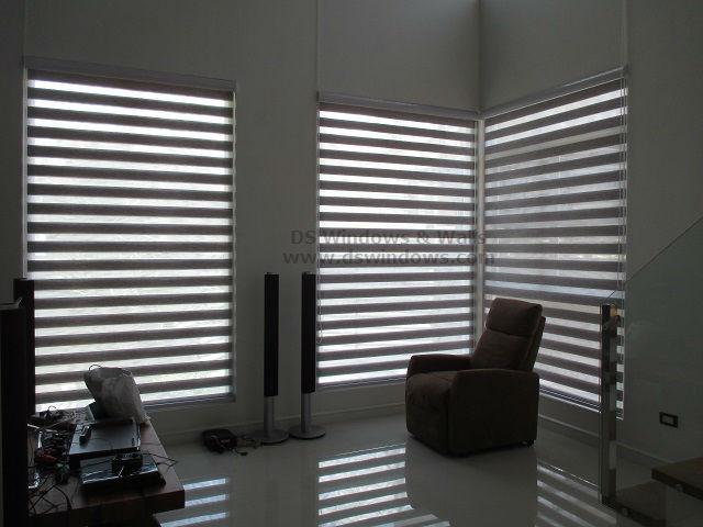 Dual Shade Blinds for Living Room - Alabang Muntinlupa