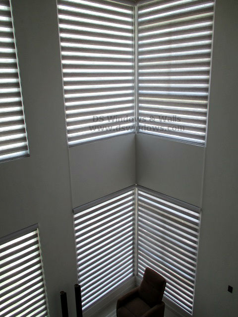 Dual Shade Blinds installed at Alabang Muntinlupa, Metro Manila