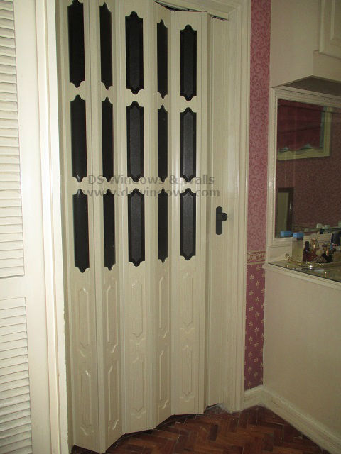 Frech Accordion Door installed at Plainview Village, Mandaluyong Metro Manila