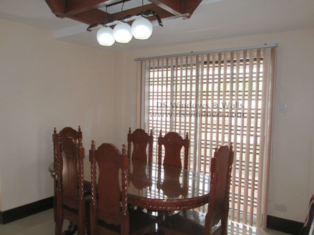 PVC Vertical Blinds fro Traditional Dining Area - Tanza Cavite