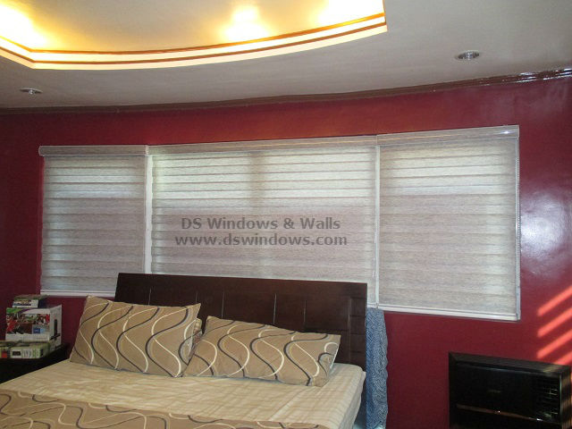Combi Blinds installed at Tayabas, Quezon Province