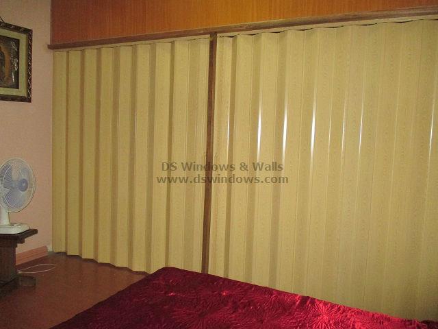 Bedroom Folding Door for Electricity Efficiency - Makati City