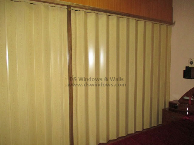 Bedroom Folding Door Installed at Makati City