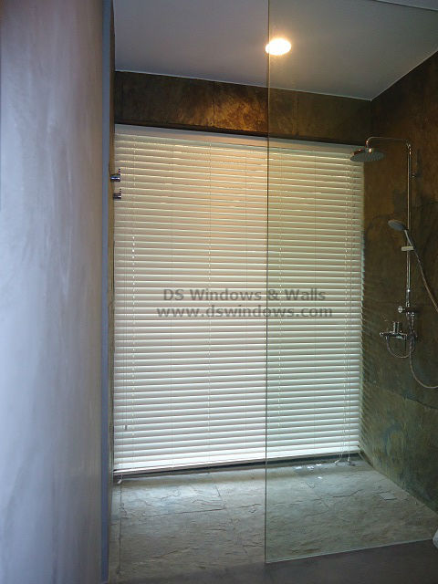 Foam Wood Blinds A Waterproof Blinds For Bathroom Windows