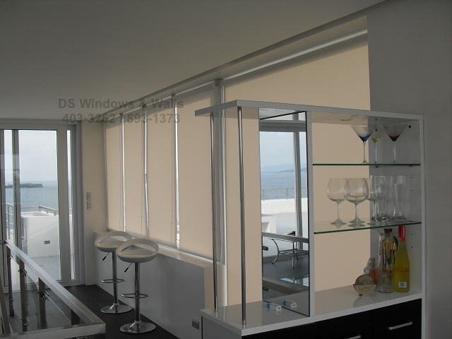 Roller Blinds Quality Fabrics for Large Houses