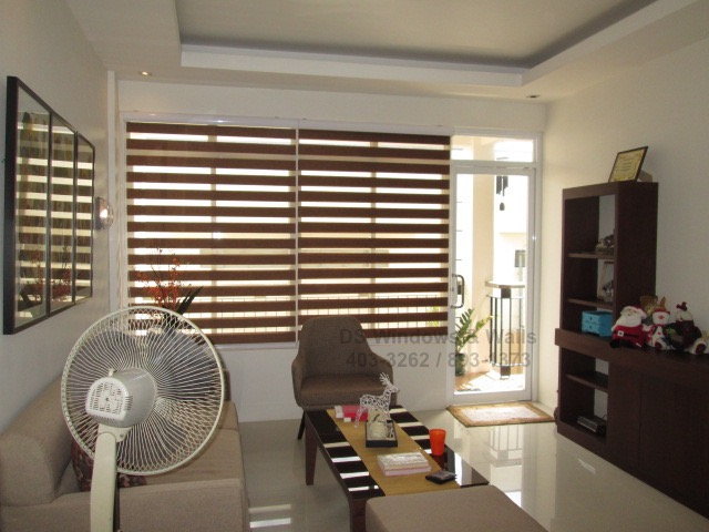 Simple but Elegant Combi Blinds