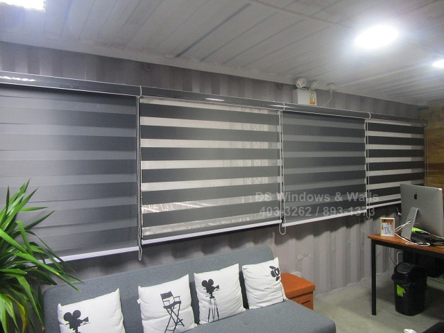 Combi blinds Manila project