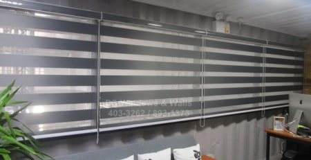 Combination blinds for all types of office space
